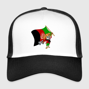 Afghanistan fan dog - Trucker Cap