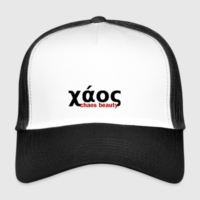 caos in greco - Trucker Cap