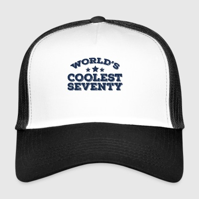 70th birthday: World's Coolest Seventy - Trucker Cap