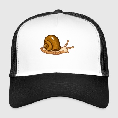 Brown escargot - Trucker Cap