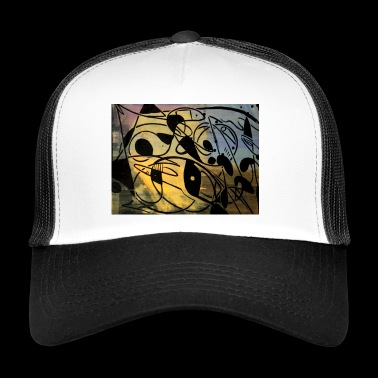 FB IMG 1520706210155 1 Abstraction de poissons - Trucker Cap