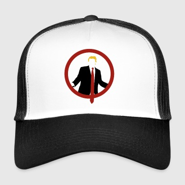 Trump Shield Tie - Trucker Cap