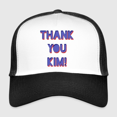 Kim Big Up - Gorra de camionero