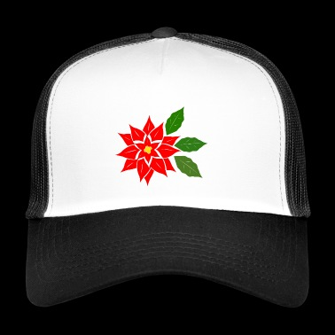 poinsettia - Trucker Cap