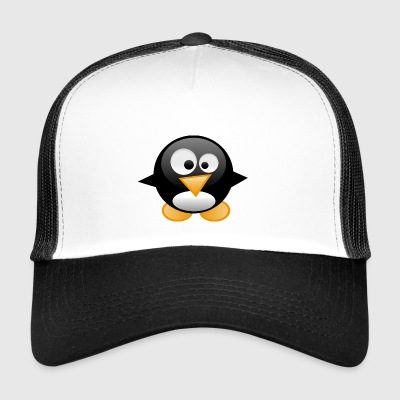 cartoon penguin 22 - Trucker Cap