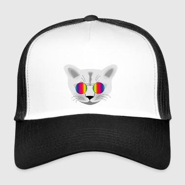 hippie Cat - Trucker Cap
