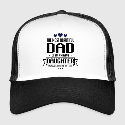 Beautiful Daughter's father's day - fathers day - Trucker Cap