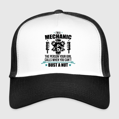 Funny Mechanik - mechanik - Trucker Cap