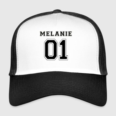 Melanie 01 - Black Edition - Trucker Cap