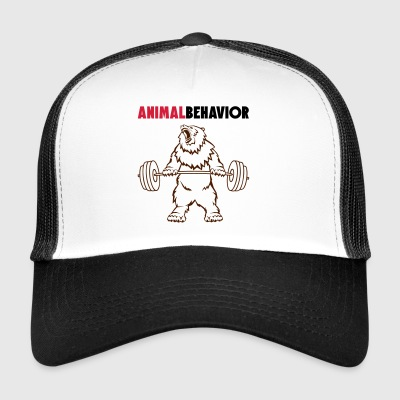 Animal behavior color above - Trucker Cap
