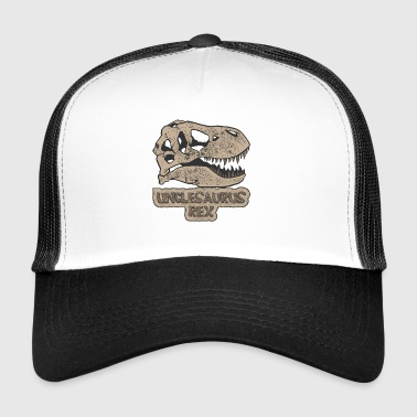 Unclesaurus Rex my uncle gift dinosaur - Trucker Cap