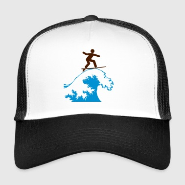 Wave Surfing - Trucker Cap