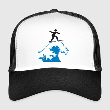 wave riding - Trucker Cap