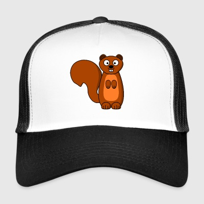 squirrel eichhoernchen animal tiere - Trucker Cap