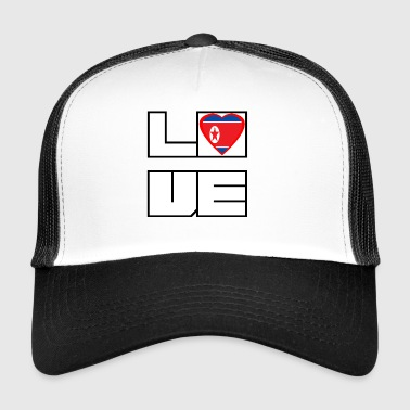Loveland Roots Korea Północna - Trucker Cap
