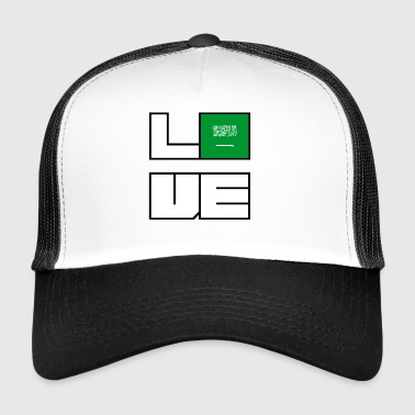 Love Heimat Wurzeln Roots Saudi Arabien - Trucker Cap