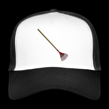 cleaning cleaning cleaning woman broom wischmop63 - Trucker Cap