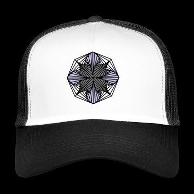 Geometric Art: Octagon (Shaded) - Trucker Cap