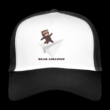 bear flight - Trucker Cap
