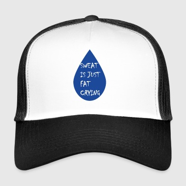 Funny fitness quote - Trucker Cap