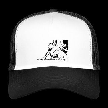 polar bear eisbaer nordpol north pole alaska14 - Trucker Cap