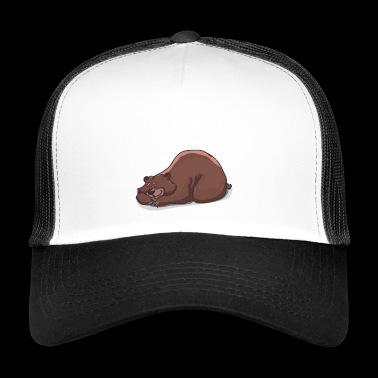 Bear Illustratie - Trucker Cap