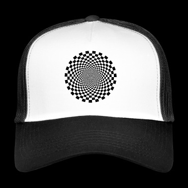 illusion optique 2 - Trucker Cap