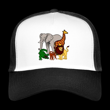 Safari animals - Trucker Cap