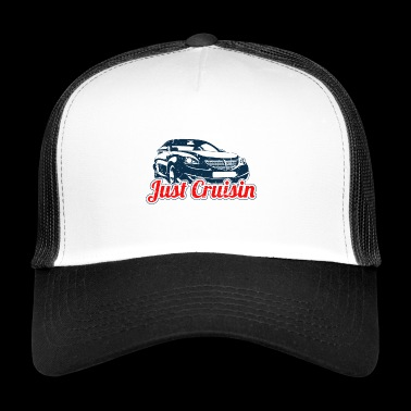 Juste Cruisin T-shirt - Trucker Cap