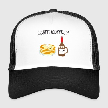 Pancakes + syrup - Trucker Cap