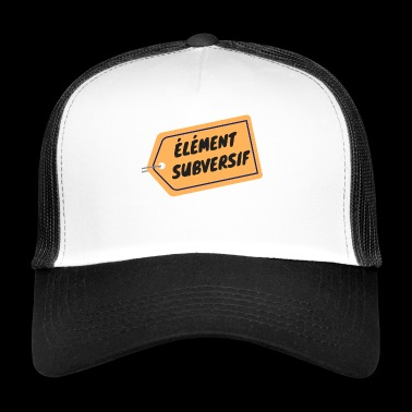 SUBVERSIEEL ELEMENT - Trucker Cap