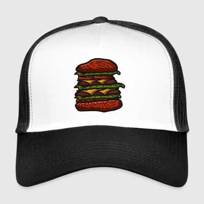 hamburger - Trucker Cap