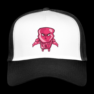 Cartoon drawing - Trucker Cap