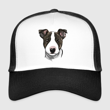 BULL TERRIER - chiot bull terrier - Trucker Cap