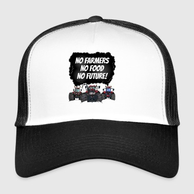 food_tshirt_rood - Trucker Cap