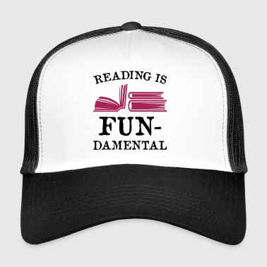 Lezen is fundamenteel - Trucker Cap