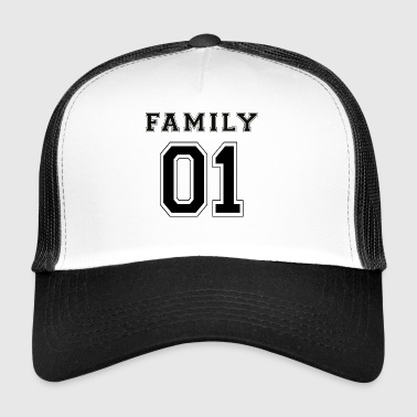 FAMILY 01 - Black Edition - Trucker Cap