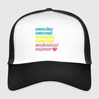 Amazing mechanical engineer - Trucker Cap