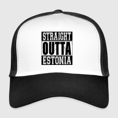 Straight Outta Estonia 001 AllroundDesigns - Trucker Cap