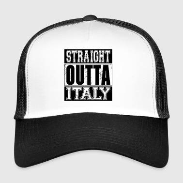 Straight Outta Italy 001 AllroundDesigns - Trucker Cap