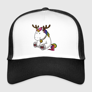 Christmas Unicorn - Trucker Cap