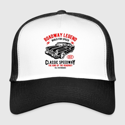 BYGGER FOR SPEED - Retro Car og bil shirt design - Trucker Cap