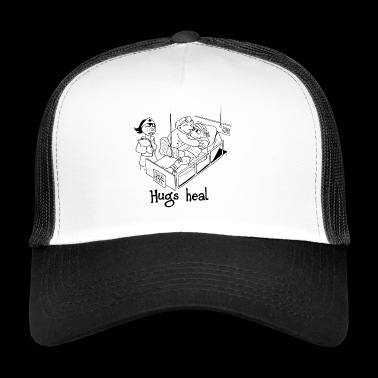 Hugs heal - Trucker Cap