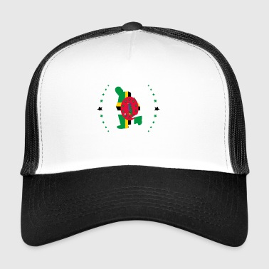 take a knee football Dominica png - Trucker Cap