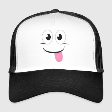 NAUGHTY FACE - Funny tegneserie Gave shirts - Trucker Cap