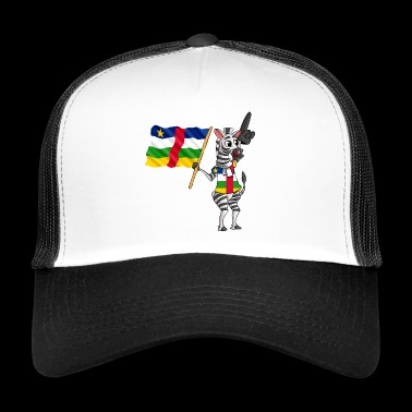Central African Zebra - Trucker Cap