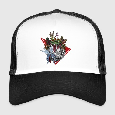 Planet of carnivorous plants in color - Trucker Cap
