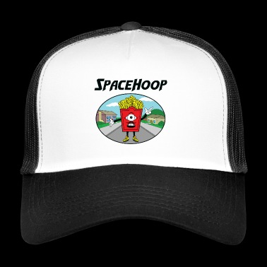 SpaceHoop - Monday Fries - Trucker Cap