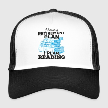 Retirement plan lesing (mørk) - Trucker Cap