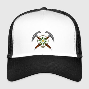 Mountaineers logo - Trucker Cap